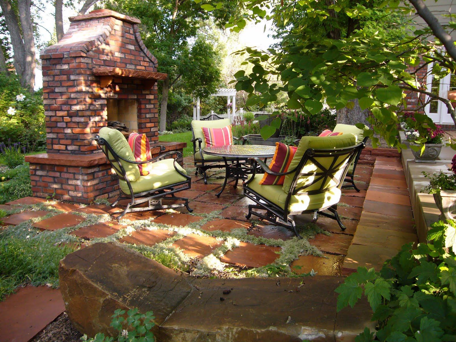 Decorating the Patio: Get Ready for Outdoor Dining! | GR ... on home outdoor water features, home outdoor landscaping, home outdoor fence designs, home outdoor gazebos, home outdoor atrium designs, home outdoor fountains, home outdoor pool, blue outdoor patio designs,
